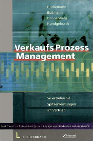 Buch-Cover Verkaufsprozessmanagement