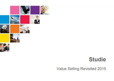 Studie Value Selling Revisited 2015