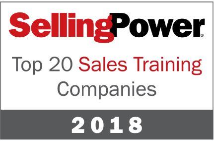 Selling Power Award Badge 2018