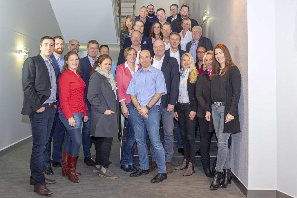 Mercuri International Deutschland Teambild