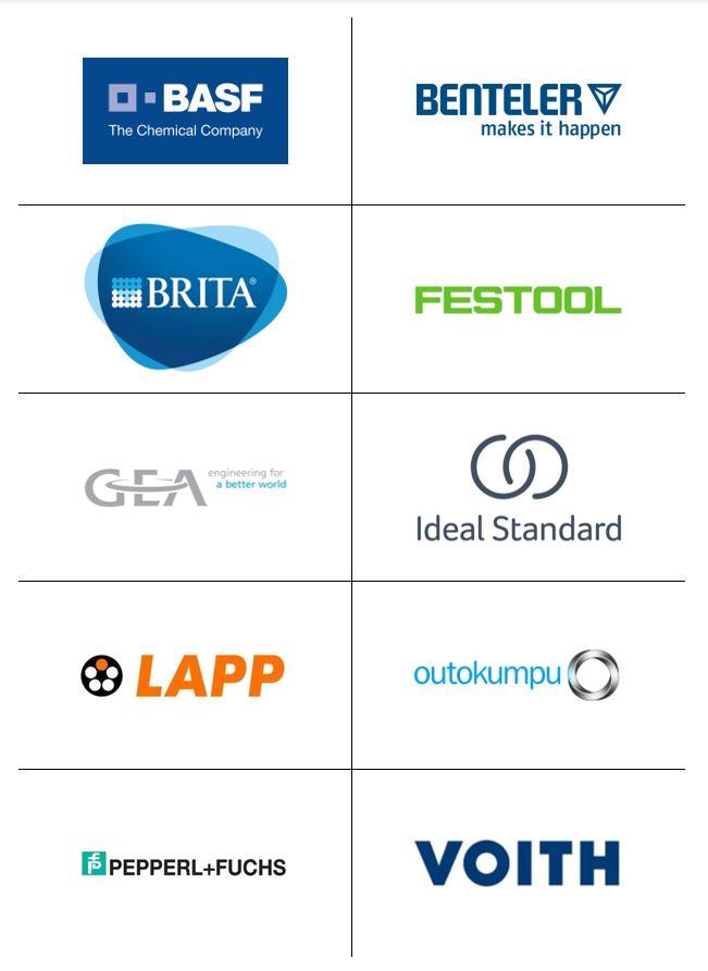 Logos Ausgewählte Kunden