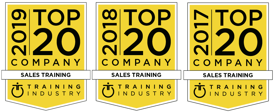 Logo Training Industry, Inc 2017, 2018 and 2019