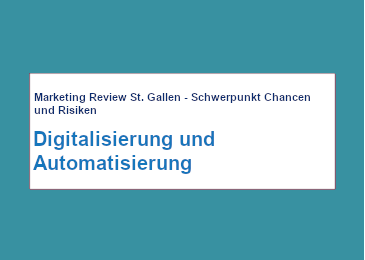 Marketing Review St. Gallen 052020
