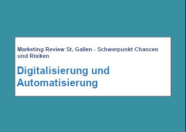 Marketing Review St. Gallen 052020