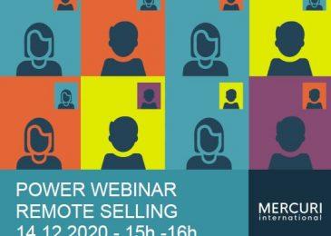 Remote Selling Webinar 18. November